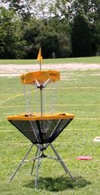 corbeille métallique de Disc-Golf