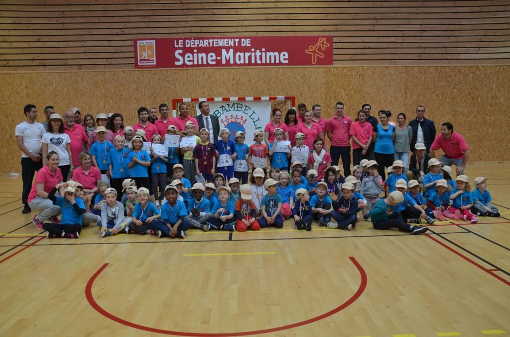 Près de 90 enfants présents pour les olympiades de Ribambelle
