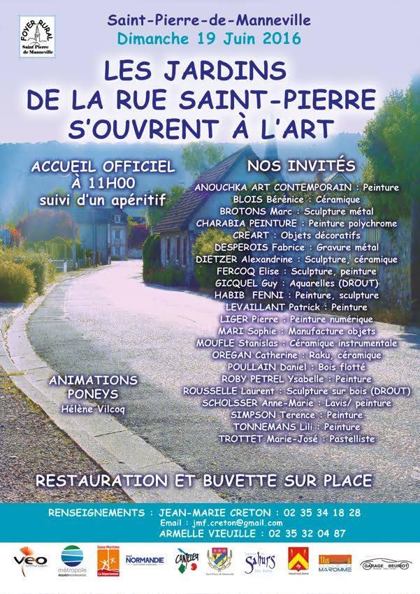 affiche rue St Pierre