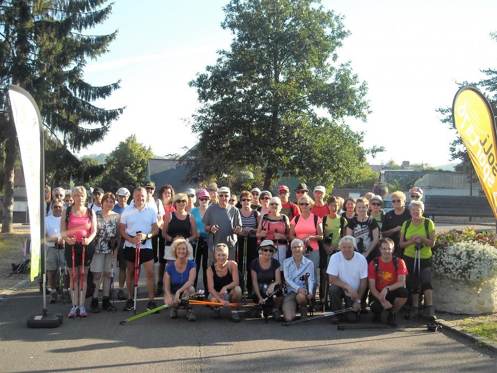 Plus de 40 randonneurs ont répondu présents pour la rando nordique de Saint-Martin-de-Boscherville